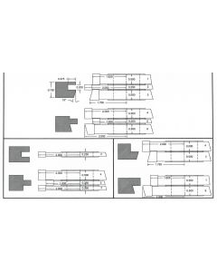 FREEBORN - PC-10-060 - CARBIDE COPE & PATTERN SET Shaper Cutter