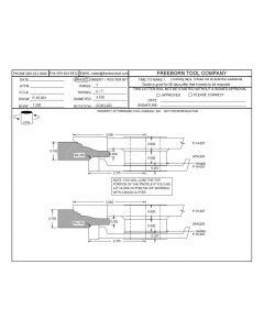 FREEBORN - PC-16-001 RAISED PANEL BACK CUTTER