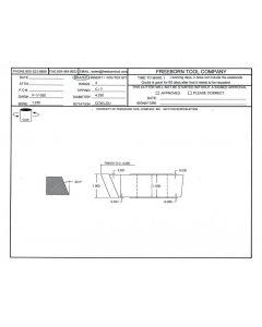 FREEBORN - PC-17-030 DOOR EDGE DETAIL BEVEL CUTTER