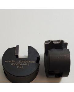 3/32 radius double ease profile