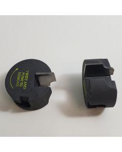 Base molding profile 1/4 radius