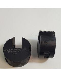 1/8 radius triple bead profile