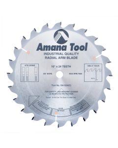 """Amana RA1024 10""""/24T RADIAL ARM ATB GRIND"""