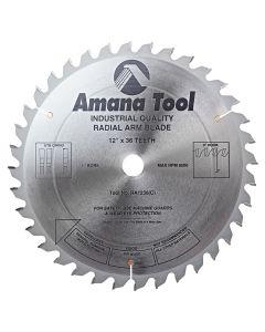 """Amana RA1236 12""""/36T RADIAL ARM ATB GRIND"""