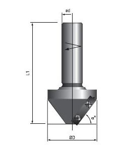Fs Tool Chamfering Insert Router Bits