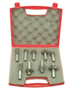 SOUTHEAST TOOL BASIC-SET-14 Basic Starter 8 pc Set, 1/4 Shank Tools