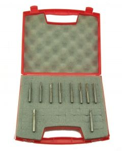 SOUTHEAST TOOL P-SET Plastic Cutting Tooling 10 Pc  Starter Set