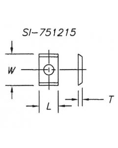 SOUTHEAST TOOL SI-201215 Insert 20 x 12 x 1.5  ( 10 pc per pack)