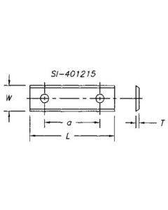 SOUTHEAST TOOL SI-401215 Insert 40 x 12 x 1.5  ( 10 pc per pack)