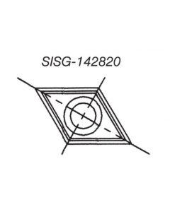 SOUTHEAST TOOL SISG-142820 Spur/Grooving Knife,14x 28 x2.0  30 Deg(Box of 10)