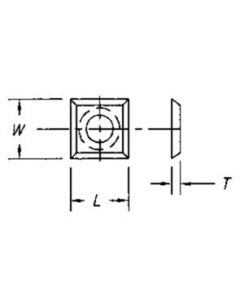 SOUTHEAST TOOL SPOIL-INSERT Replacement Insert 14 x 14 x 2 ( 10 pc per pack)
